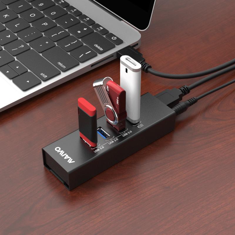 KH204 USB3.0 Hub with 4port