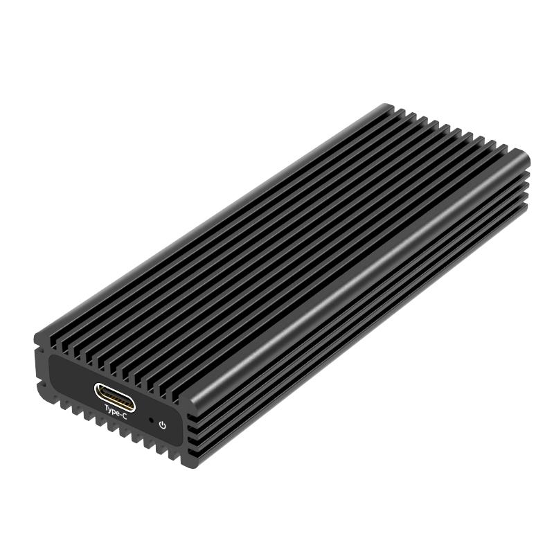 K1687S TypeC USB3.2 GEN2 single bay M.2(NGFF) SSD Enclosure