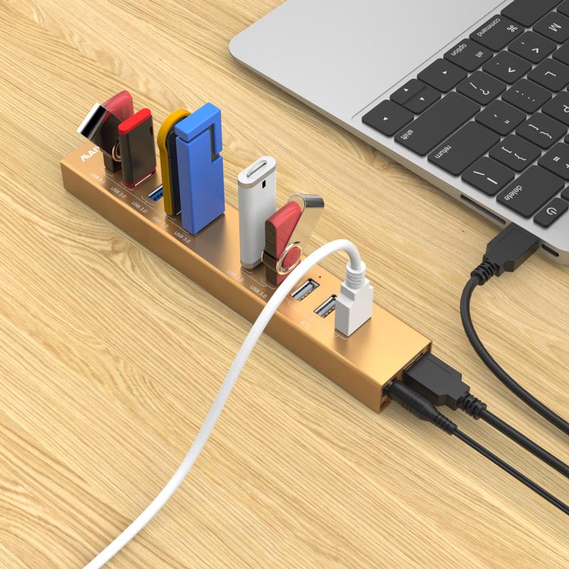 KH210 USB3.0 Hub with 10port
