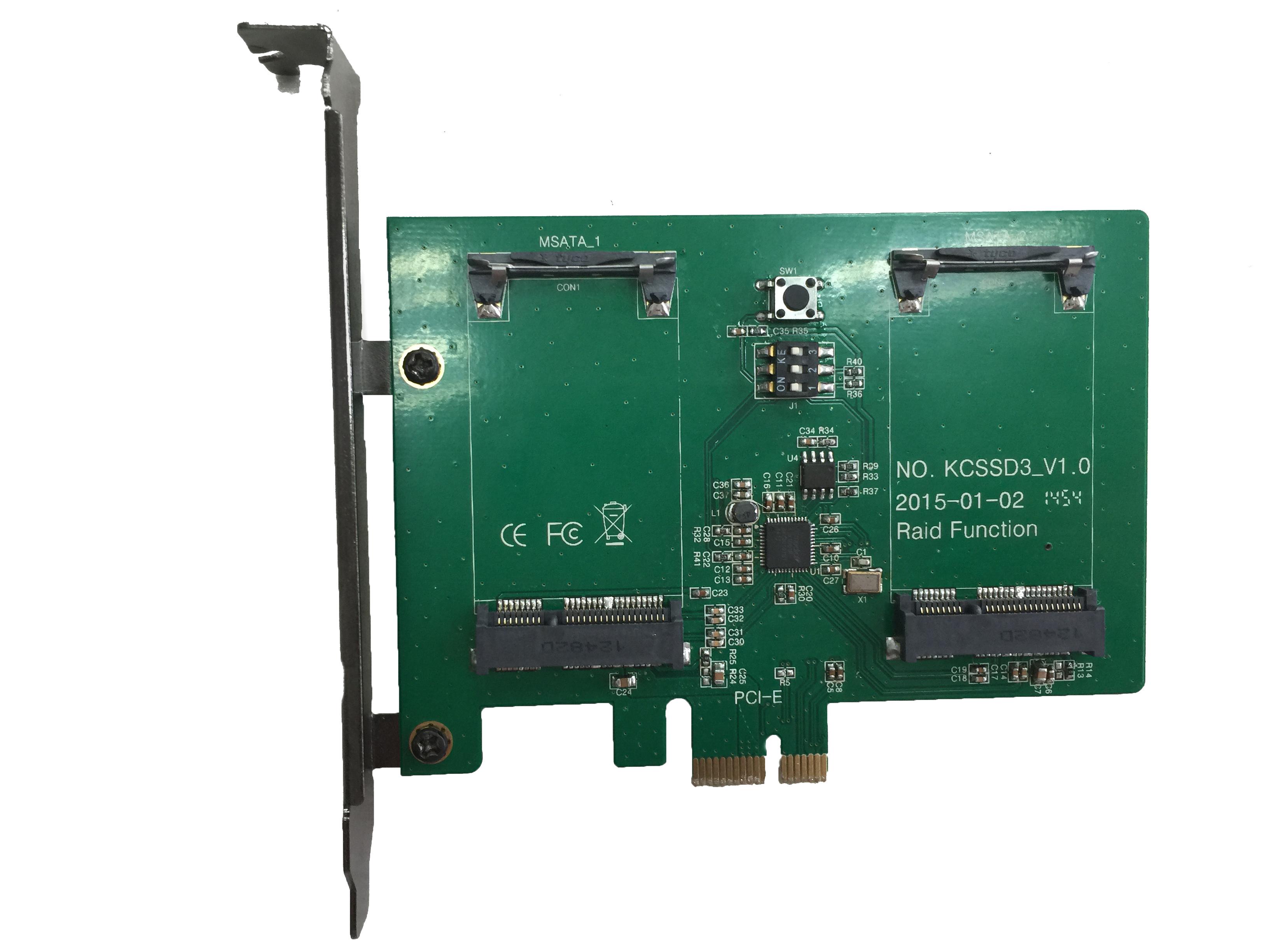KCSSD3  PCIe 2.0X1 slot