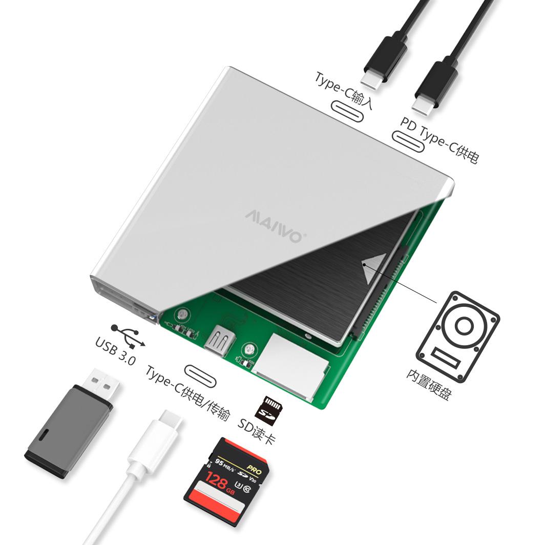 K2525 Multibay typeC GEN1 2.5'' HDD Enclosure
