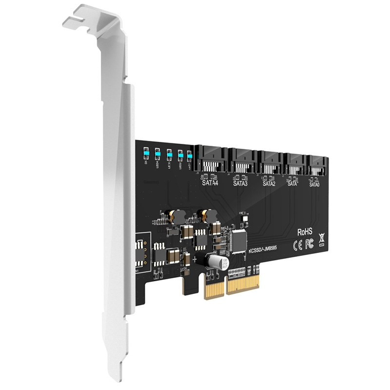 KCSSD8 SATA to PCIe card