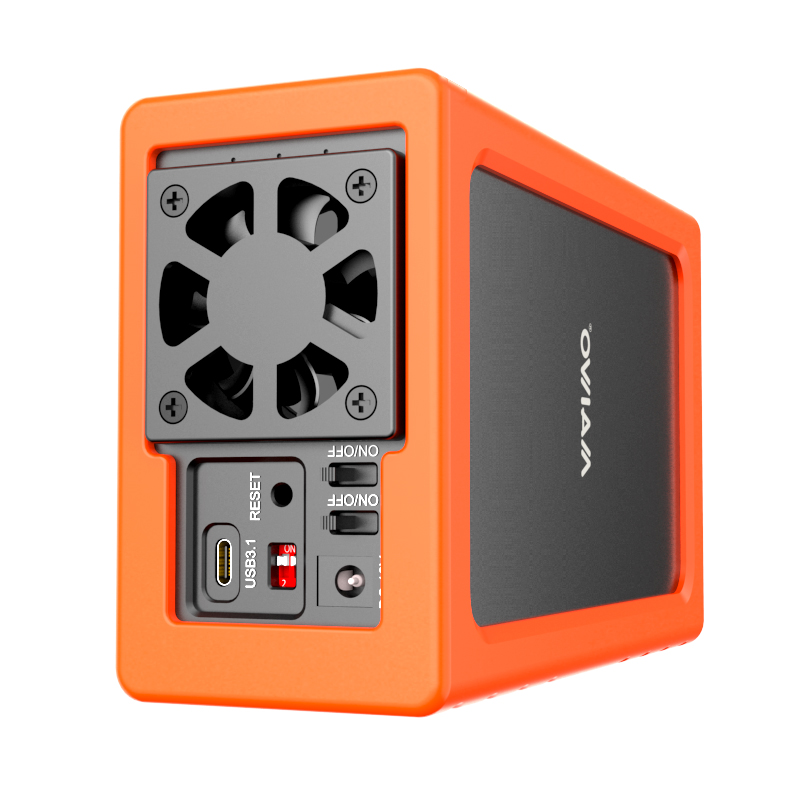 "KS03 3.5"" Dual Bay Silicon Protective Box"