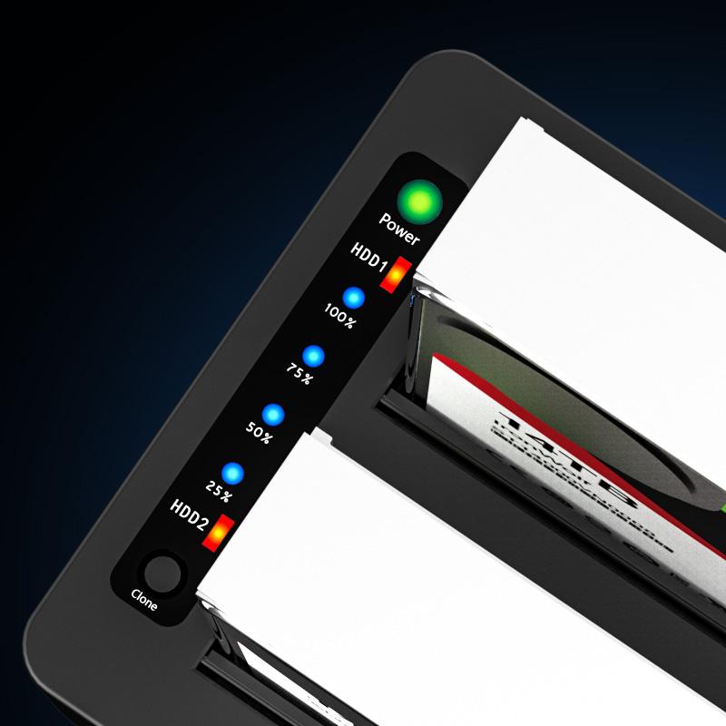 MAIWO K3082CE USB3.2 Gen1(5Gbps) clone and erase HDD dock