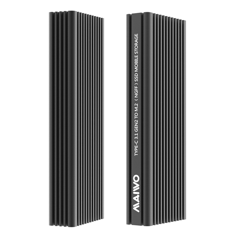 MAIWO K1687P2 USB3.2 Gen2(10Gbps) SATA and NVMe combo M2 SSD Enclosure