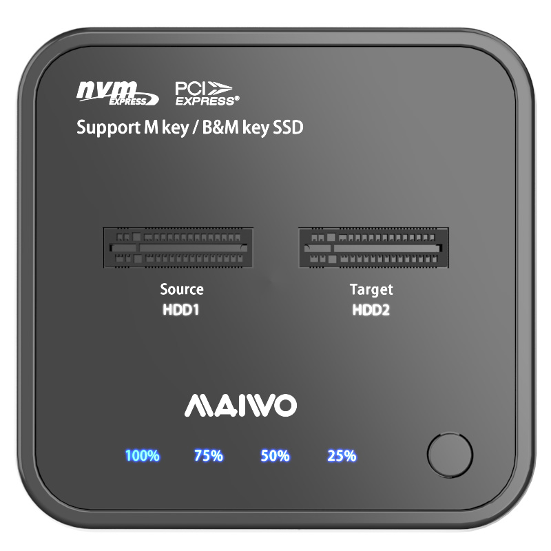 MAIWO K3016P USB3.2 Gen2(10Gbps) NVMe M.2 SSD clone dock