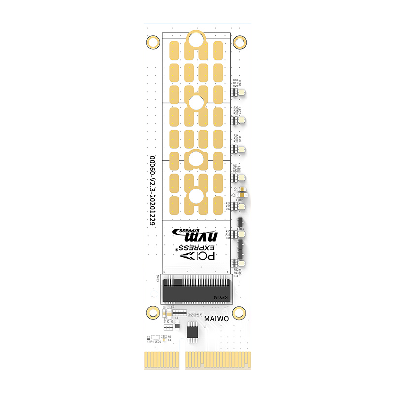 MAIWO KT060A NVME Hard Disk Converter Card PCIE X4 M.2 Full Speed Expansion SSD Solid State