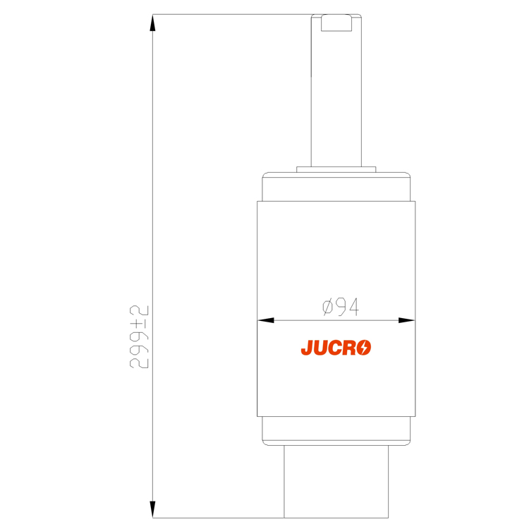 Vacuum Interrupter TD-12KV 1250A 25KA (JUC629A) from JUCRO Electric
