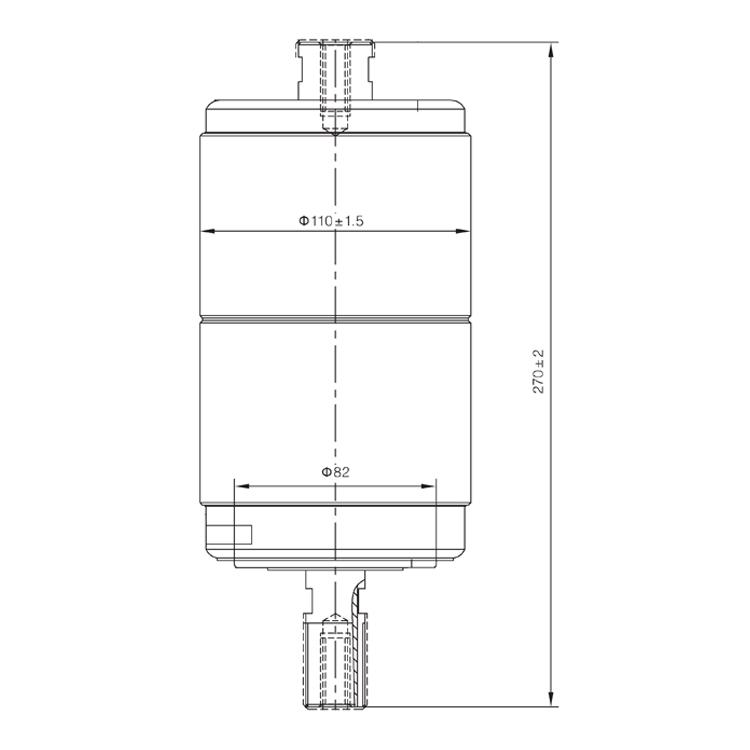 Vacuum Interrupter TD-36KV 630A 20KA (JUC2333) from JUCRO Electric