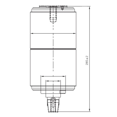 Vacuum Interrupter TD-40.5KV 1600A 31.5A (JUC2338) from JUCRO Electric