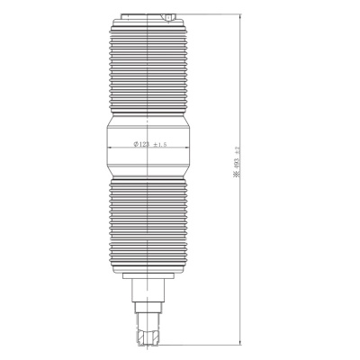 Vacuum Interrupter JUCA-40.5KV 2000A, 1600A 31.5KA (JUCA-61030E) from JUCRO Electric