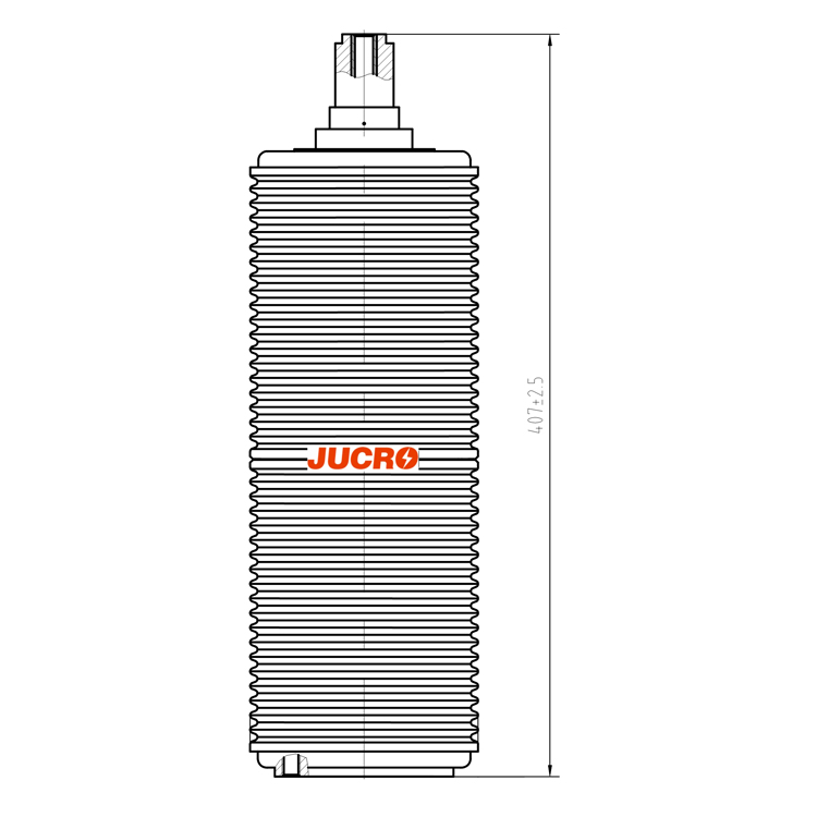 Vacuum Interrupter JUCA-40.5KV 1600A 31.5KA (JUC632) from JUCRO Electric