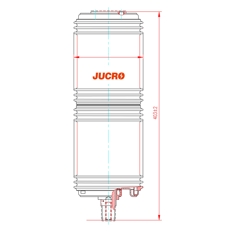 Vacuum Interrupter TD-40.5KV 1250A 31.5A (JUCA2563) from JUCRO Electric
