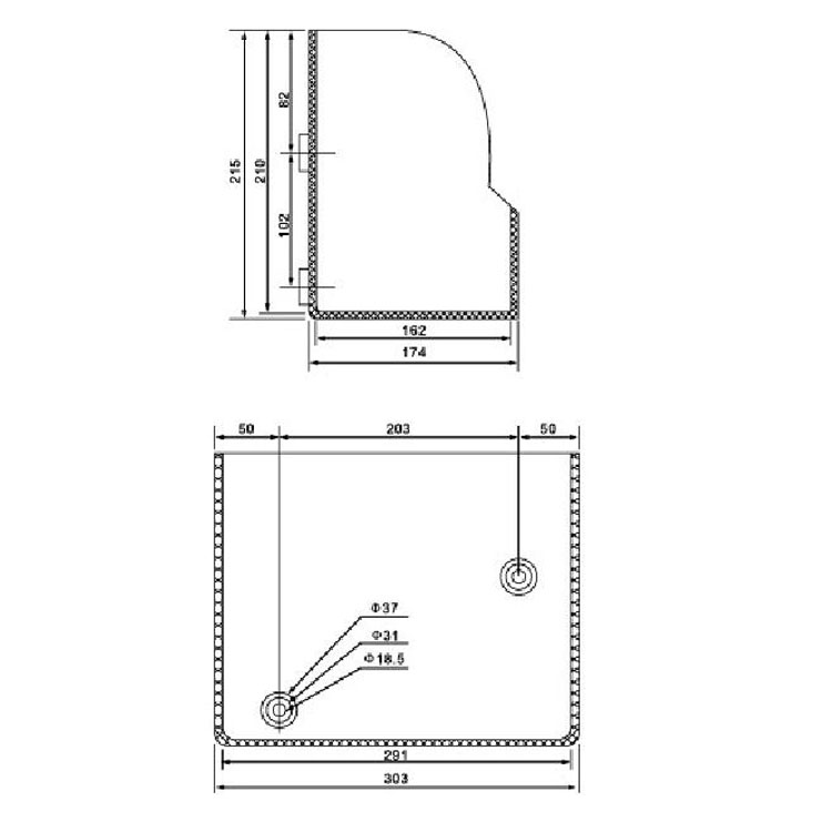 Down insulation cover JV1 12KV for  vacuum circuit breaker accessories use from JUCRO Electric