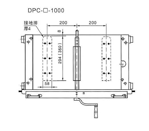 DPC-4-1000  chassis car for Switchgear use  from JUCRO Electric