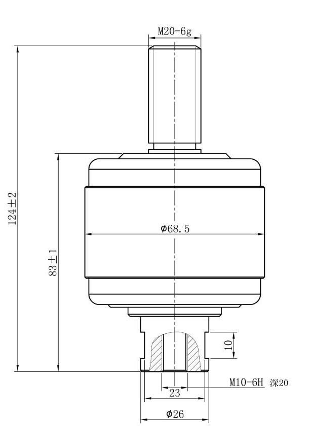 Vacuum Interrupter  HCJ5 1.14KV 1000A for vacuum contactor from Jucro Electirc