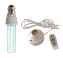 E27 UV germicidal lamp High Quality Home use UV air cleaner 15W sterilizing lamp from JUCRO