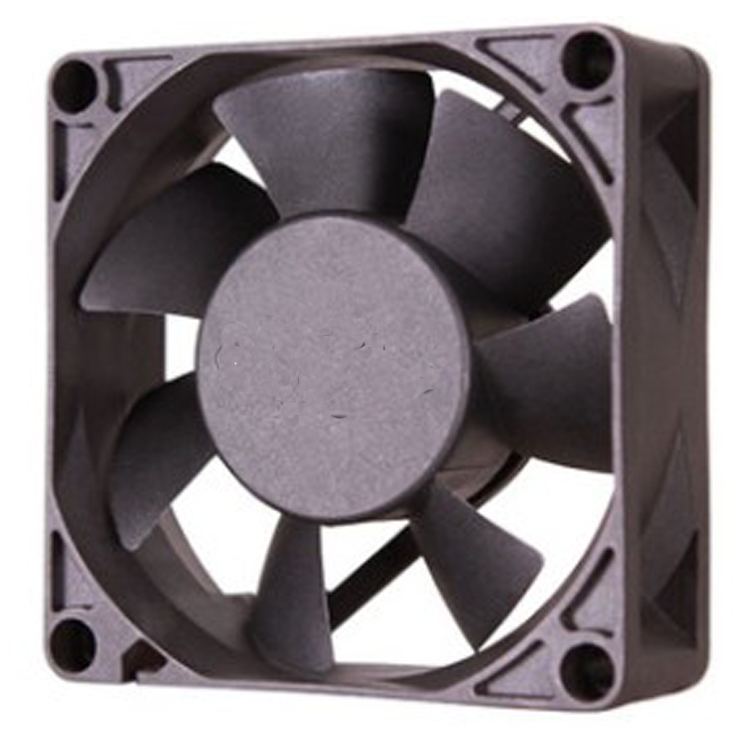 7025 DC motor design fans cooling DC12V cooling fan two ball cooling fan from Hubei JUCRO ELECTRIC