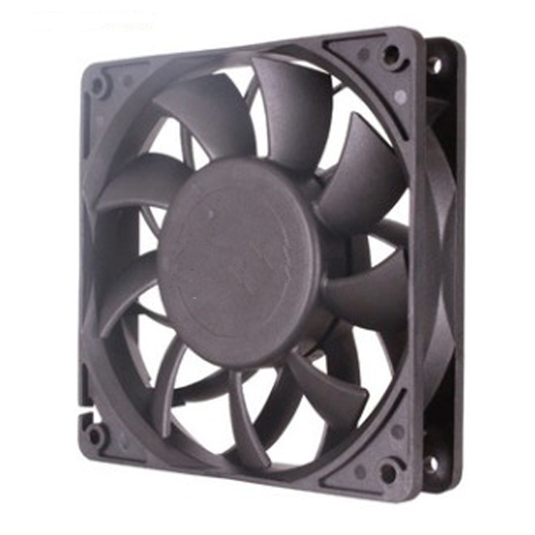 DC motor design fans cooling  120 x 120 x 25 from Hubei JUCRO ELECTRIC
