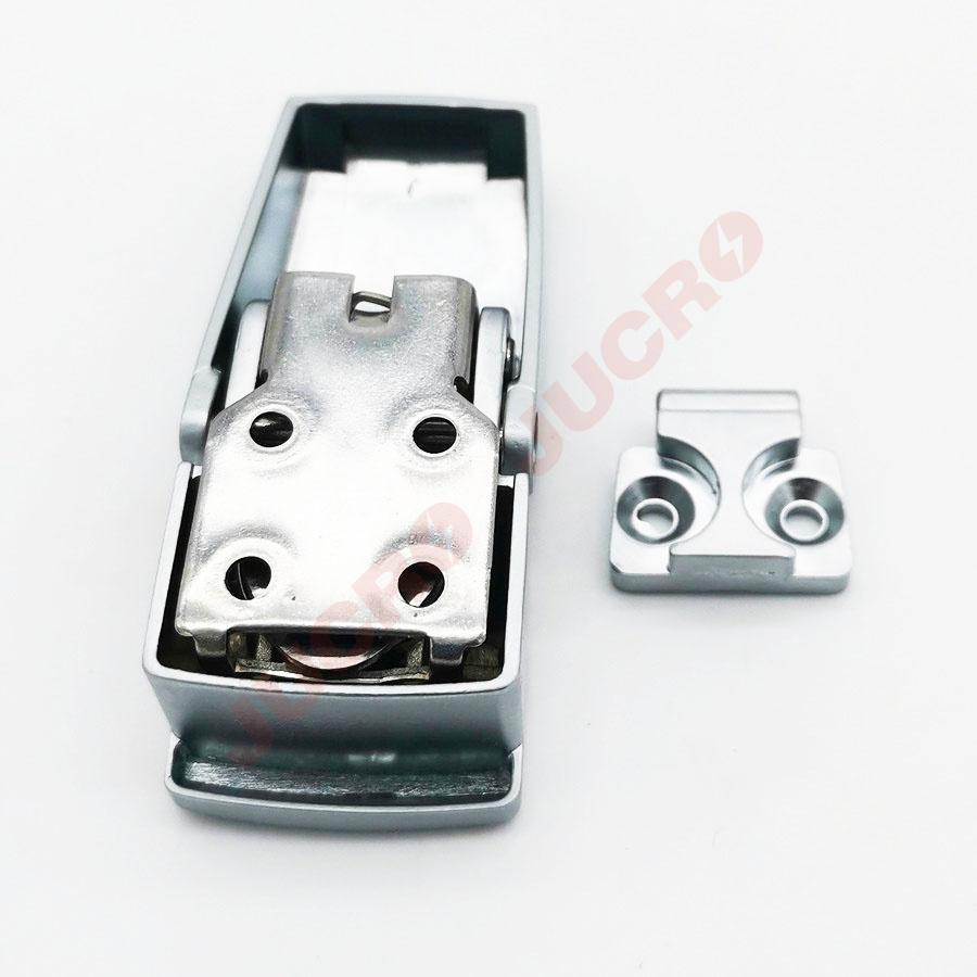 Buckle lock BK604-1 Matt Silver