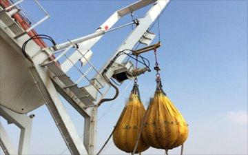 Life boat davit /Crane /Accommodation ladder Load test