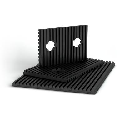 DIMFAB 分布式隔离材料带肋橡胶垫
