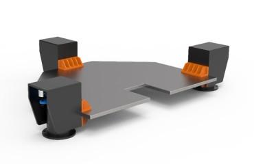 低重心隔振台架,光学平台