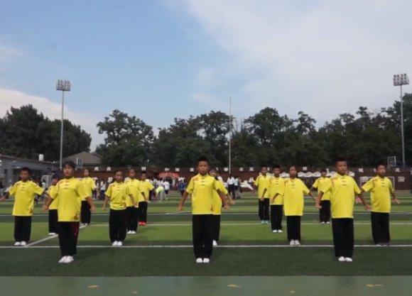 北京和平小学武术队