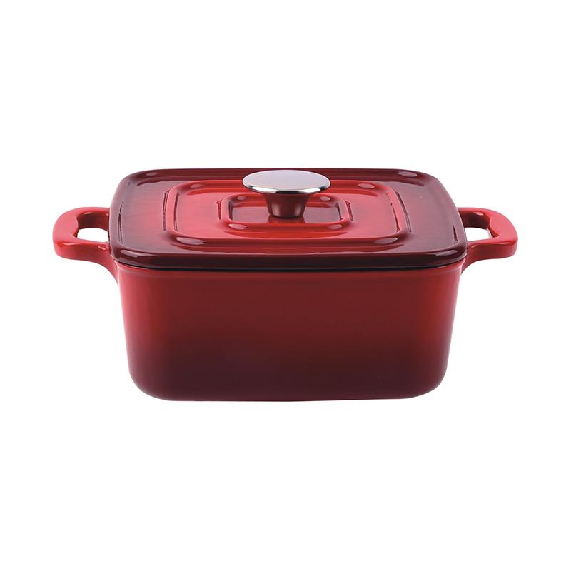 Covered square casserole