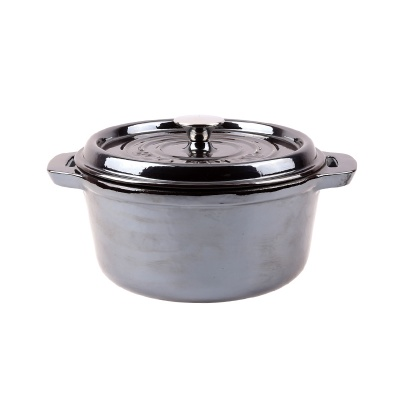Covered casserole w/ hollow ss knob