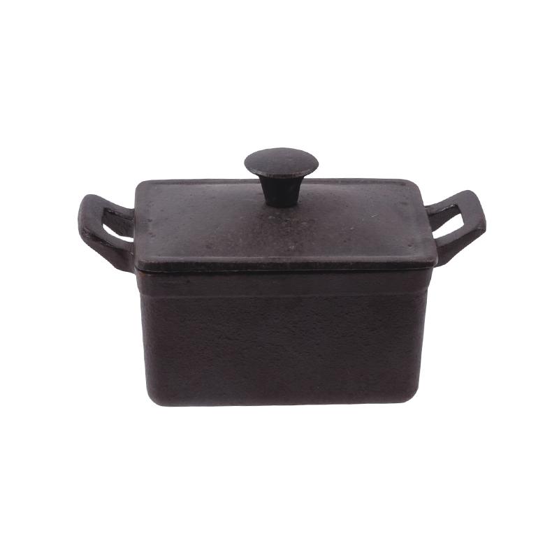 Mini rectangular covered casserole