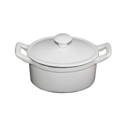 Mini oval covered casserole
