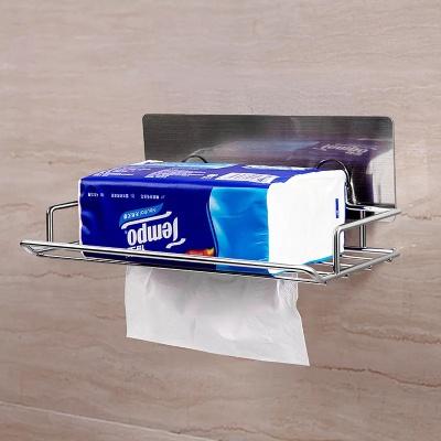 Adhesive tissue holder