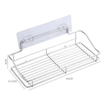 Adhesive stainless steel multifunctional holder