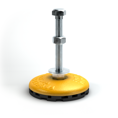 FabcelLev-L®支架 设备和机械的水平仪支架