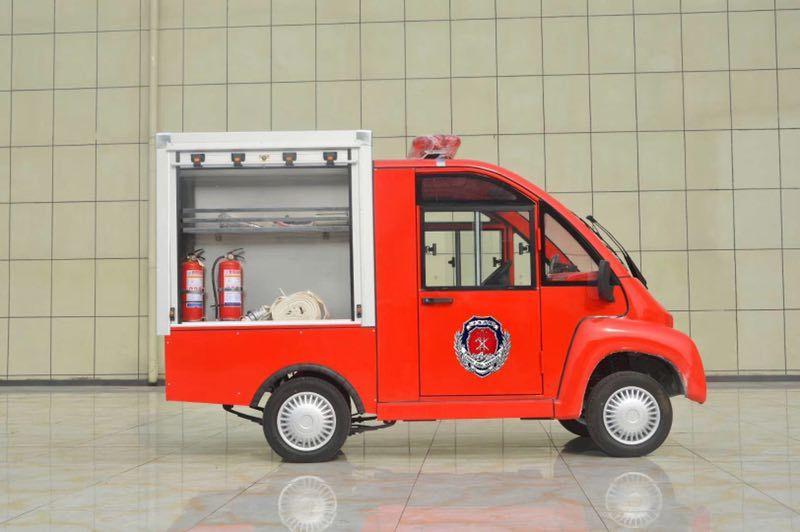 电动消防车——节能环保 成本低廉