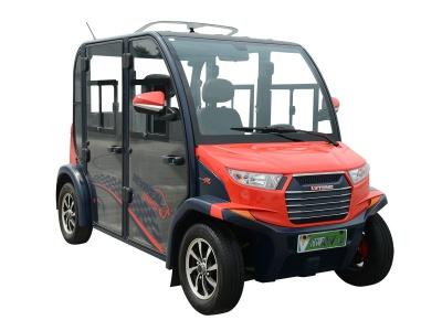 四人座电动代步车