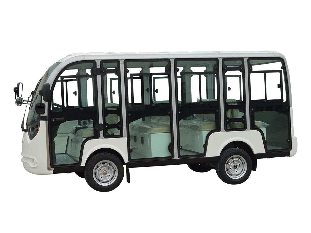 十一人座封闭式旅游观光车