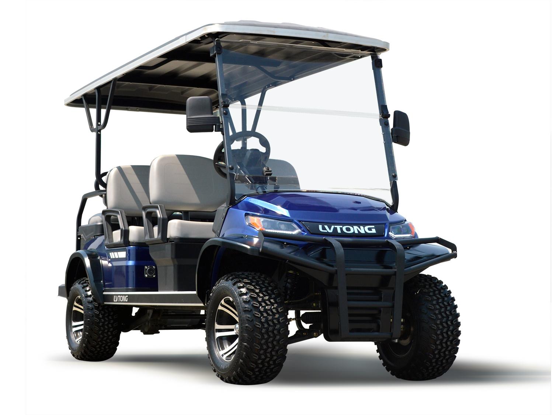 六人座加高装置高尔夫观光车