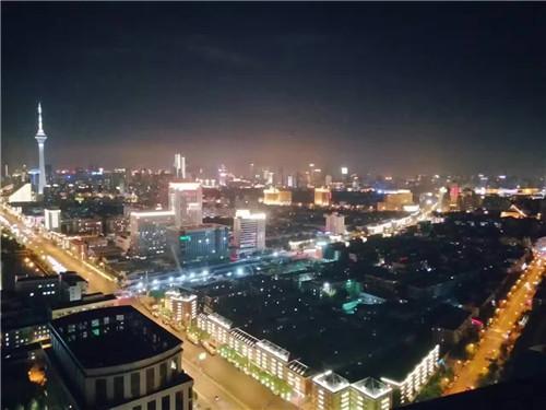 天津全运会城区亮化
