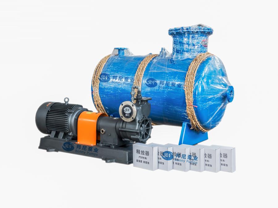 泵尼气浮泵能够更好的提高溶气...