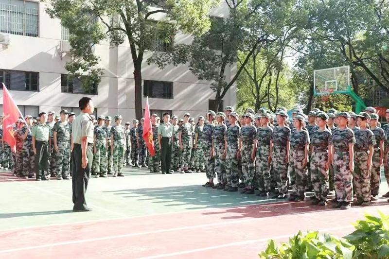 军训结营仪式