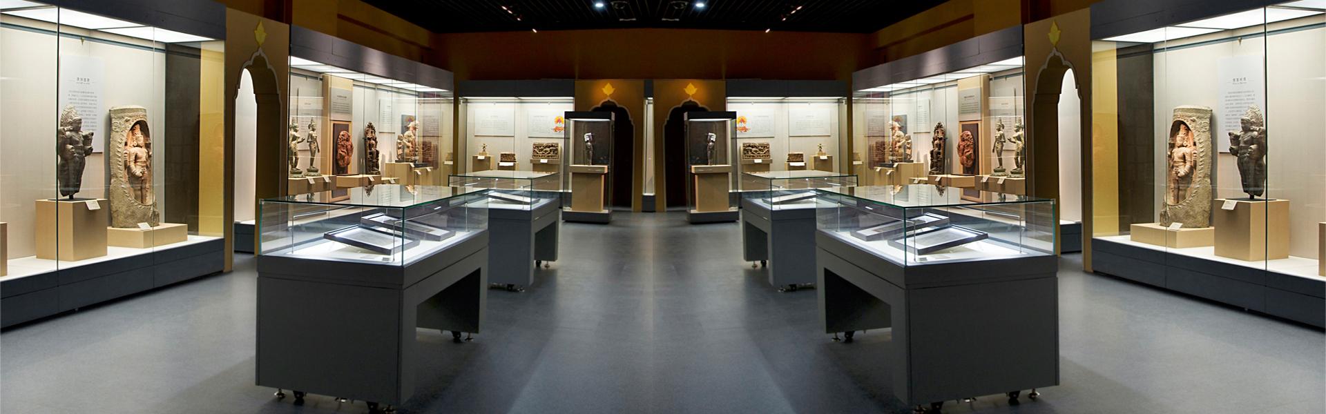 博物馆桌柜