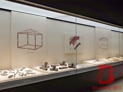 博物馆沿墙通柜M044