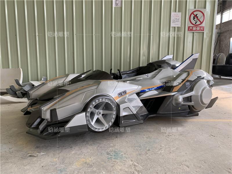 玻璃钢汽车雕塑定做
