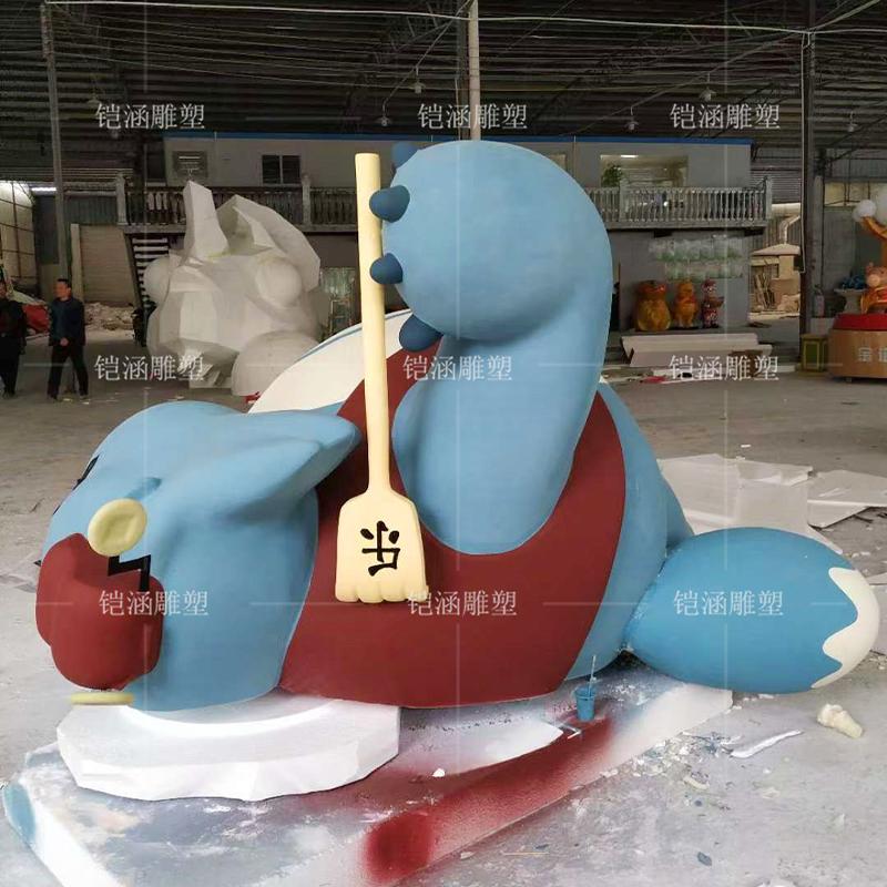 泡沫雕塑大象摆件