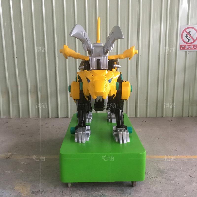 玻璃钢机械兽雕塑定制雕塑定制广州雕塑厂家