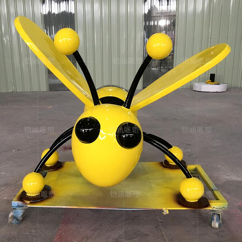 玻璃钢雕塑定制卡通动物小蜜蜂