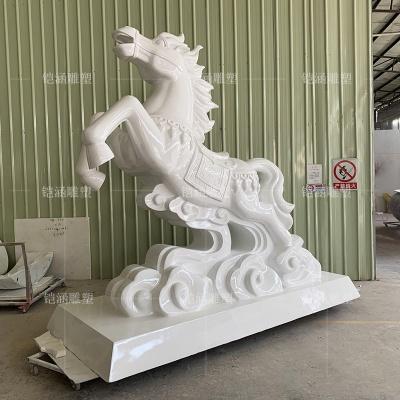 玻璃钢马雕塑定做