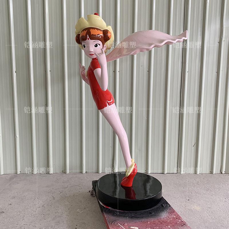 玻璃钢雕塑小公主定制